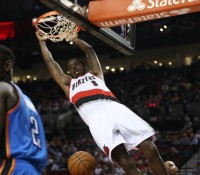 BLAZERS CLINCH PLAYOFF BERTH WITH WIN OVER OKC