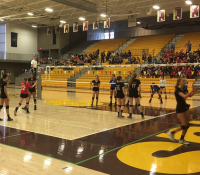 GLIDE VOLLEYBALL ADVANCES TO STATE SEMINAL AGAINST CRESSWELL